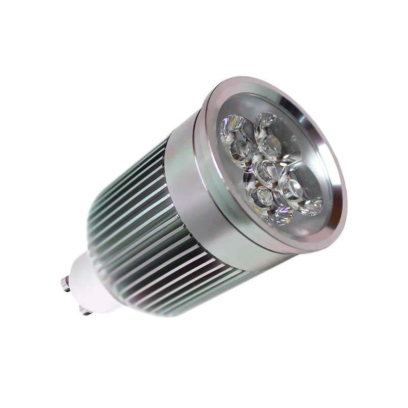 Bombilla LED GU10 6W,  high power PRO, Blanco cálido